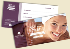 wellness card la cerquetta